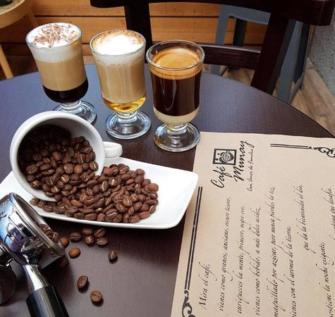 cafetería de especialidad
