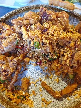 Angie's Dumpling Bar: Food