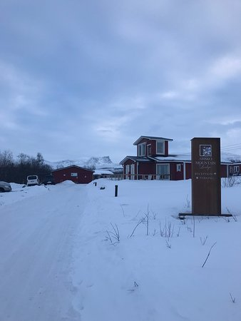Abisko Mountain Lodge: First impressions were good!
