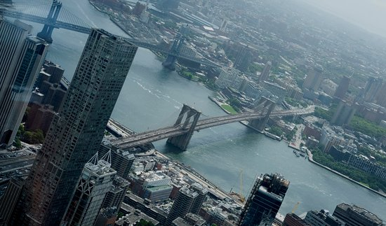 Brooklyn Bridge view from the observatory