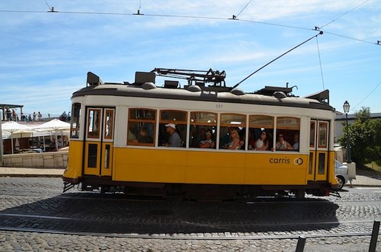 The Rogue Historians: The famous 28 Tram, we spot this trundling past on most of our tours.