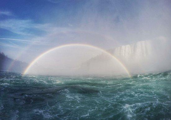 Niagara Falls Tour: DOUBLE Rainbow