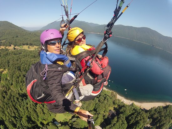 Morning flight with Marcelo and Vianney!
