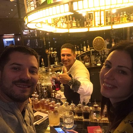 Best cocktails in town - bartender Joseph