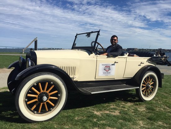 Ken and his 1924 Studebaker Touring Car