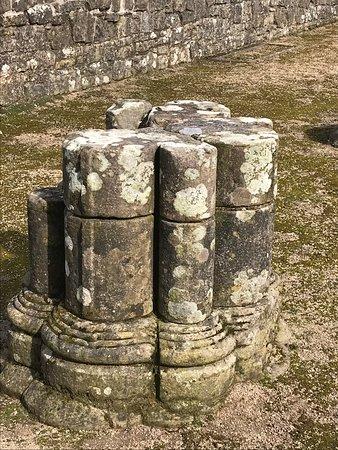Shap Abbey: Column remains