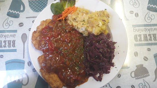The German Cafe: Zigeuner Schnitzel
