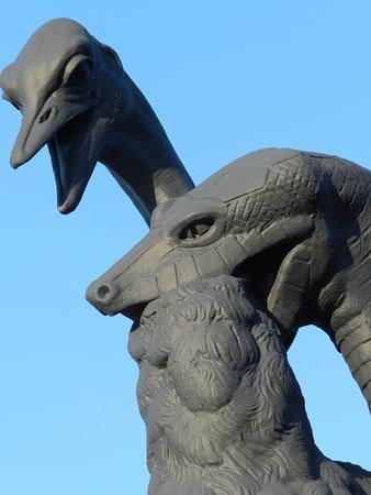 Swierklaniec, โปแลนด์: Park pałacowy w Świerklańcu - detal fontanny