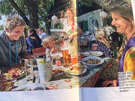 """Gasthaus Schellenberg: Gut zu """" Tafeln """""""