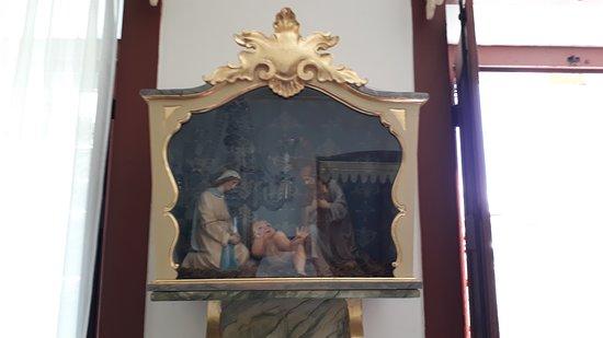Igreja Nossa Senhora das Merces: Presépio da Capela do Sagrado Coração de Jesus