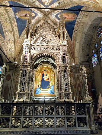 Church and Museum of Orsanmichele: It's great to see works of art in their original location rather than in a museum.