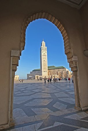 Full-Day Private Tour to Rabat from Casablanca: Hassan II Mosque in Casablanca