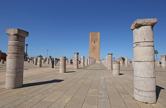 Full-Day Private Tour to Rabat from Casablanca: Hassan Tower in Rabat (an incomplete mosque that was started in 1195)