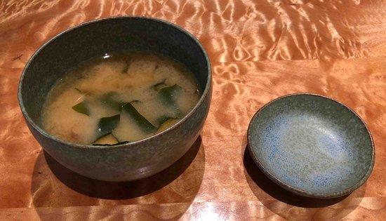 Sushi Ran: very delicious miso soup