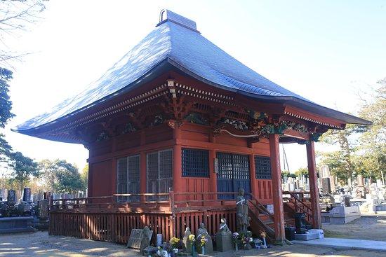 Kamisu, Japan: 神善寺:朱塗りの釈迦堂