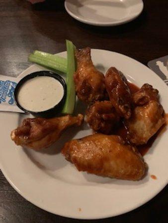 Bridgeport, PA: half-cooked wings