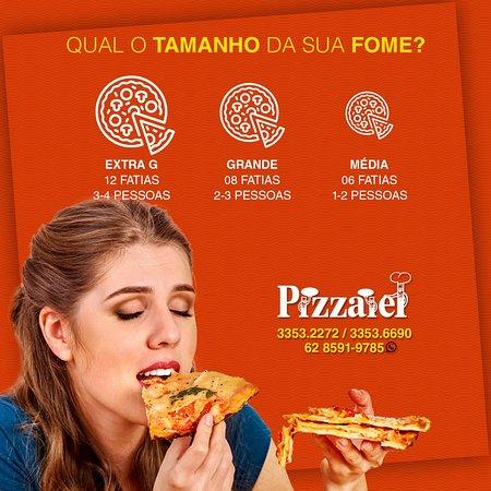 Pizzaria Pizzaiel: Temos um Cardápio variado para atender o seu Paladar.