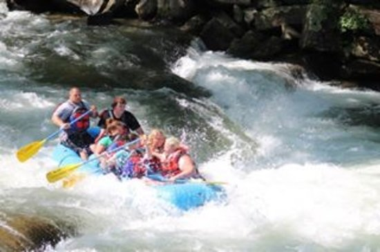 First white water experience