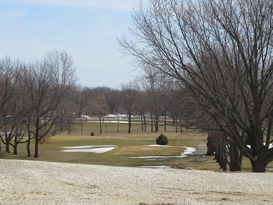 สเปนเซอร์, ไอโอวา: View of the golf course if sitting on the patio.