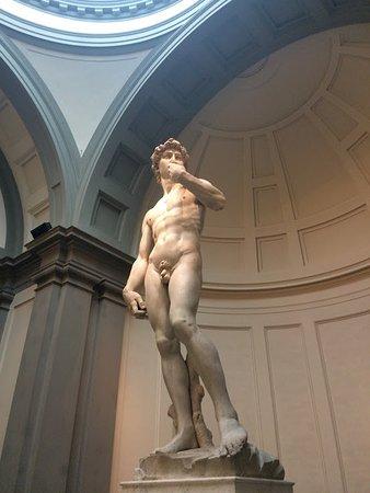 Galleria dell'Accademia: side view
