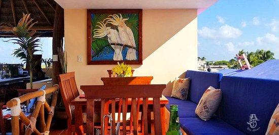 Rosa Sirena's Restaurant & Rooftop Palapa Bar, Isla Mujeres
