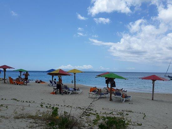 Antigua: the beach