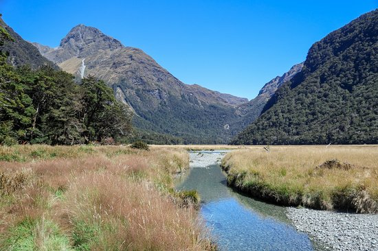 Routeburn Track 1 Day Hiking: ルートバーンフラット2