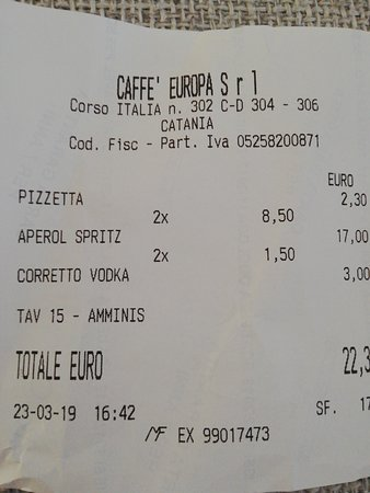 Caffe Europa Fotografie