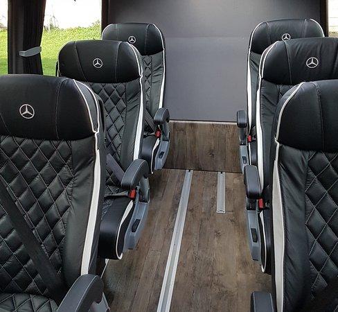G & S Tours: Sprinter VIP interior
