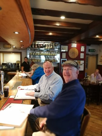G & S Tours: Lunch during a whisky tour in Speyside