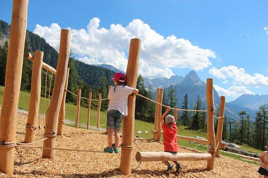 unser Holzentdeckerspielplatz