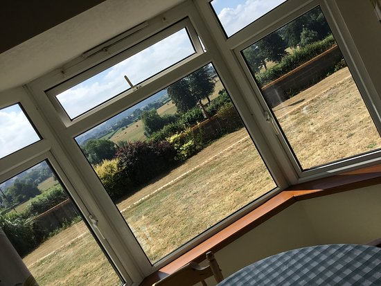 Stanton Drew, UK: View from dinning room