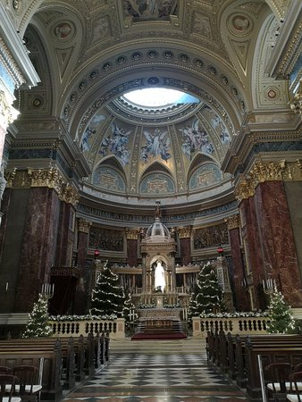 St. Stephen's Basilica (Szent Istvan Bazilika): Gennaio 2019 ☀️