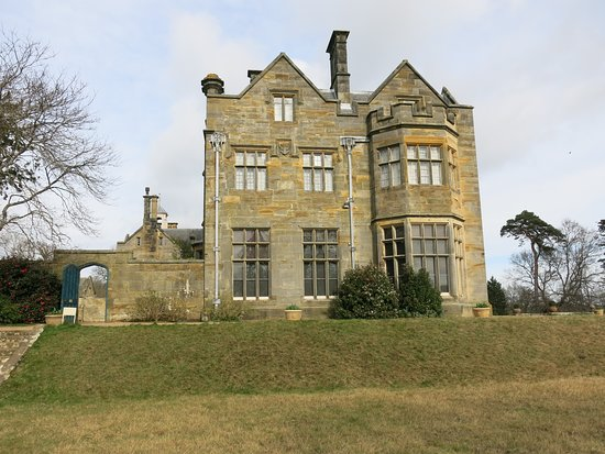 The house from the gardens.