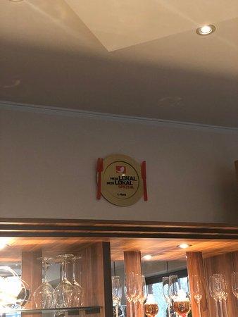 """Prato de vencedor do """"Mein Lokal Dein Lokal"""""""