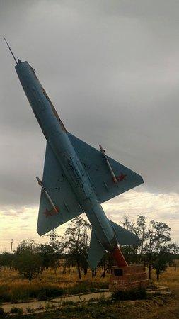 Monument Smaolet MIG-21UM