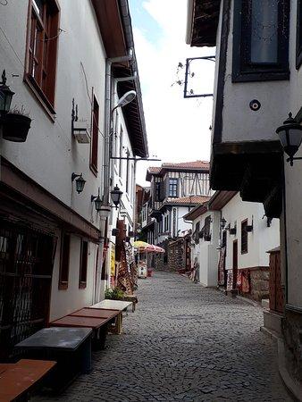 Ankara Castle: Sloping narrow street leading to the castle