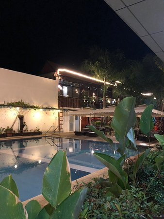 Pool and function area