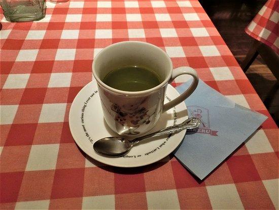 ホット緑茶