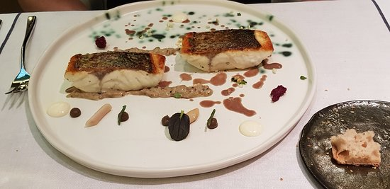 Oria Restaurant: Sea bass fish, one of the best ever eaten