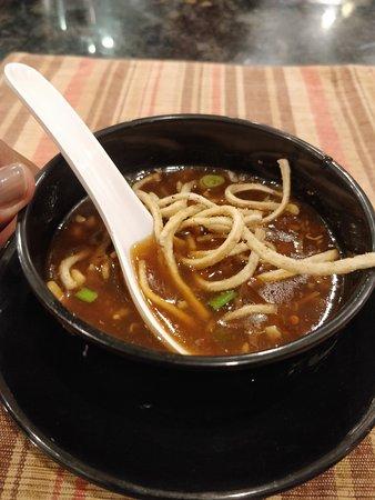 De BlueFin Seafood MultiCuisine Restaurant: soup