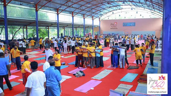 Mysuru (Mysore), India: Love is what we produce trough our Yoga courses