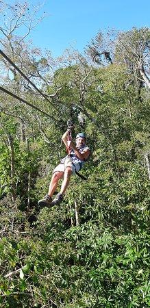 Parque de Aventura Las Nubes: Lovely views of the jungle