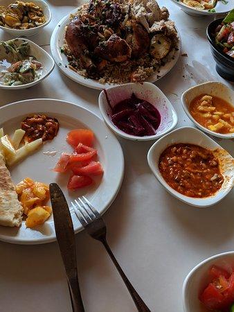 Zarzir, Israel: Appetizer salads