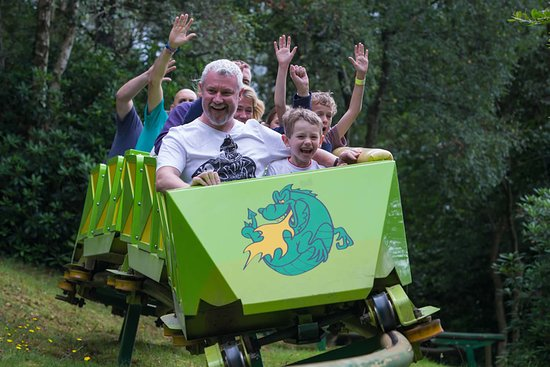 Y Felinheli, UK: Green Dragon Roller Coaster