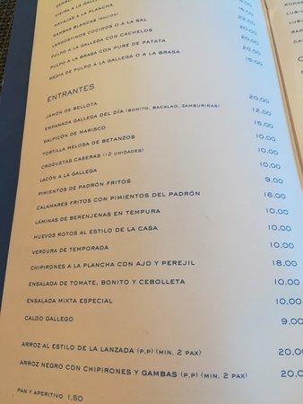 Foto de La Lanzada Cocina Gallega