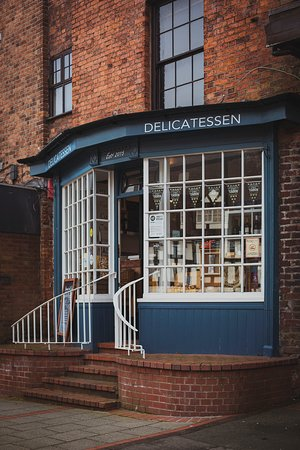 The High Street Delicatessen: A beautiful capture of the shop front by Heather Birnie