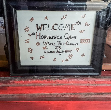 Welcome to Horseshoe Cafe