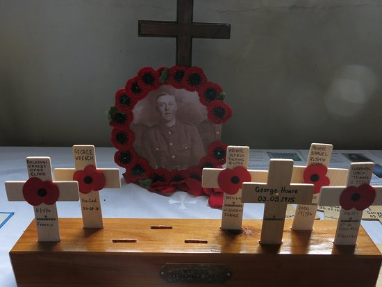 The Parish Church of St Mary's Chilham: Lest we forget...