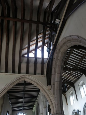 The Parish Church of St Mary's Chilham: Beautiful shape and architecture...